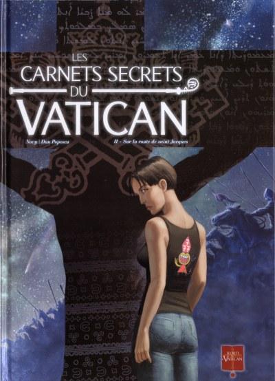 [BD FR][CBR] Carnets secrets du Vatican (Les) T1 a 2