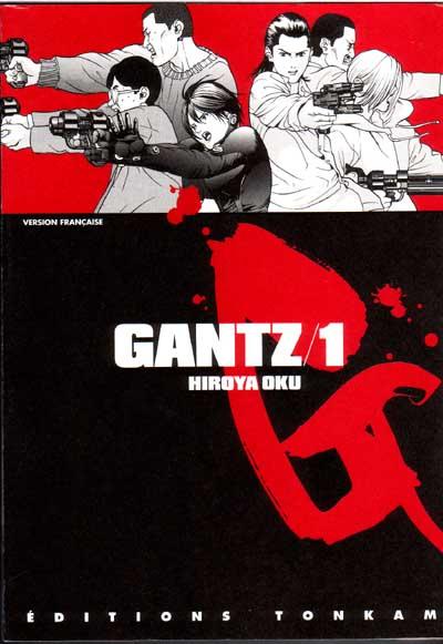 Gantz - manga Gantz01