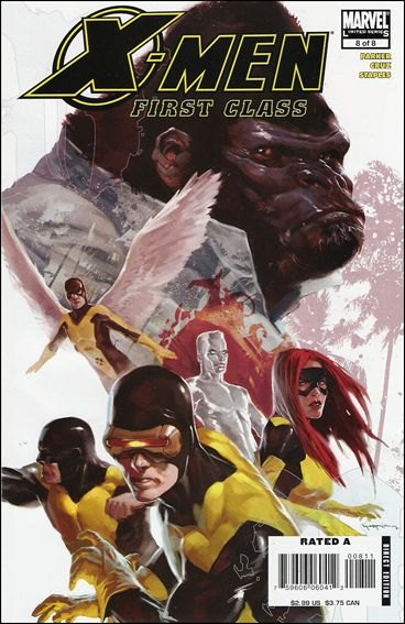 X-Men First Class [CBR] [FR] Serie complete 8T