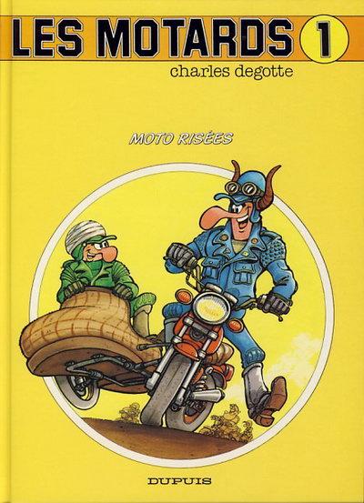 Bandes dessinées moto Motards01