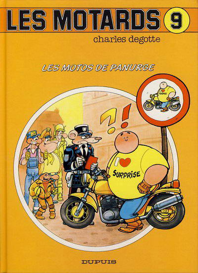 Bandes dessinées moto Motards09