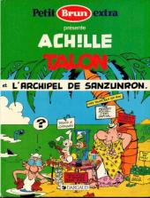 Achille Talon (Publicitaire) -37Petit Brun- Achille talon et l'archipel de Sanzunron