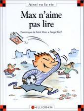 Ainsi va la vie (Bloch) -2- Max n'aime pas lire