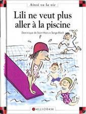 Ainsi va la vie (Bloch) -33- Lili ne veut plus aller à la piscine
