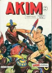 Akim (1re série) -634- La charge des gorilles