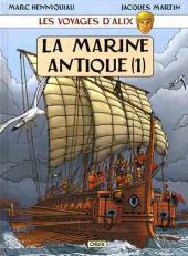 Alix (Les Voyages d') -5- La marine antique (1)