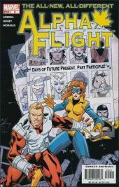 Alpha Flight (2004) -9- Days of future present, past participle part 1