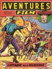 Aventures Film (1re série - Artima) -83- L'attaque de la diligence