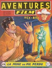 Aventures Film (1re série - Artima) -88- La mine du pic perdu