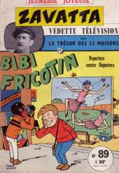 Bibi Fricotin (3e Série - Jeunesse Joyeuse) (1) -89- Reporters contre reporters