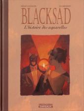 Blacksad -HS1- L'histoire des aquarelles
