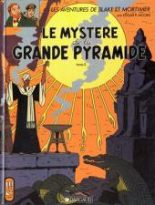 Blake et Mortimer (Éditions Blake et Mortimer) -5- Le mystère de la grande pyramide T2