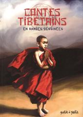 Les contes en bandes dessinées - Contes tibétains