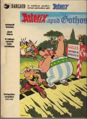 Astérix (En latin) -3- Asterix apud gothos
