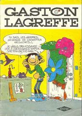 Gaston (Hors-série) -Pub- Gaston Lagreffe