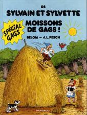 Sylvain et Sylvette -54- Moissons de gags !