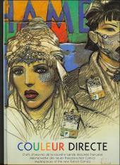 (Catalogues) Expositions - Couleur directe - Chefs d'œuvres de la nouvelle bande dessinée française