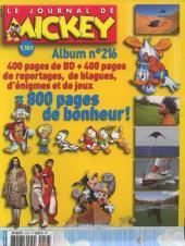 (Recueil) Mickey (Le Journal de) -216- Recueil n°216 (n°2831 à 2841)