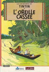 Tintin - Publicités -6Libre 1/4- L'Oreille cassée (1)