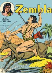 Zembla -47- La statue vivante
