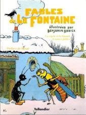 Les fables de La Fontaine (Rabier) -1- Tome 1