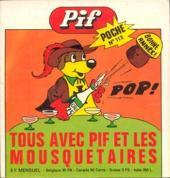 Pif Poche -113- Tous avec Pif et les trois mousquetaires