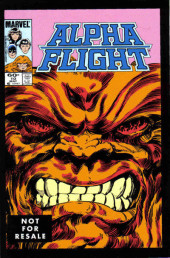 Alpha Flight (1983) -10a- Blood battle