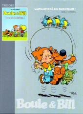 Les trésors de la bande dessinée -10- Boule et Bill - Concentré de bonheur