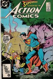 Action Comics (1938) -579- Prisoners of time