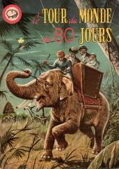 Votre série Mickey (2e série) - Albums Filmés ODEJ -13- Le tour du monde en 80 jours