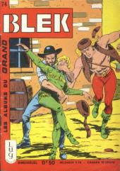 Blek (Les albums du Grand) -74- Numéro 74