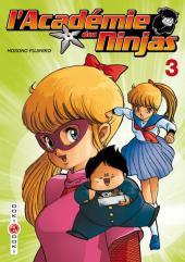 L'académie des Ninjas -3- Tome 3