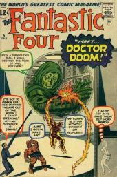Fantastic Four (1961) -5- Meet... Doctor Doom !
