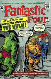 Fantastic Four (1961) -12- The incredible Hulk !