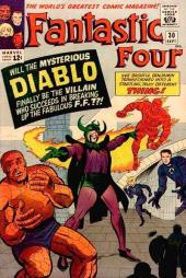 Fantastic Four (1961) -30- The dreaded diablo !