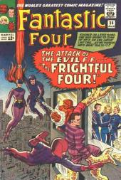 Fantastic Four (1961) -36- The frightful four !