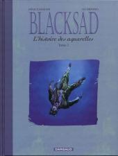 Blacksad -HS2- L'histoire des aquarelles - Tome 2