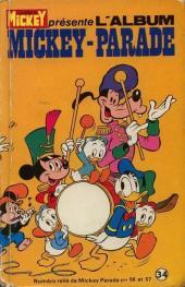 Mickey Parade -1REC034- 1e série - album n°34 (n°56 et n° 57)