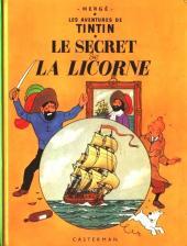 Tintin (Historique) -11B40- Le secret de la Licorne