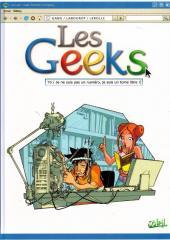 Les geeks -6- Je ne suis pas un numéro, je suis un tome libre!
