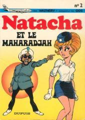 Natacha -2- Natacha et le Maharadjah