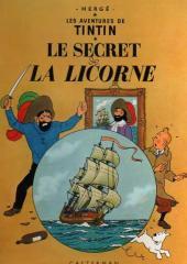 Tintin (Historique) -11B39- Le secret de la licorne