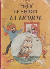 Tintin (Historique) -11B11- Le secret de la licorne