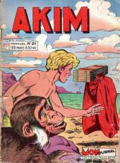 Akim (1re série) -21- Le cambrioleur fantôme