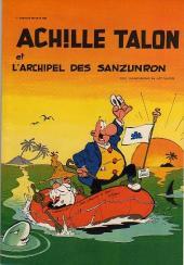 Achille Talon (Publicitaire) -37CL- L'archipel des sanzunron