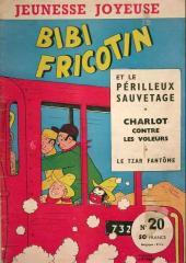 Bibi Fricotin (3e Série - Jeunesse Joyeuse) (1) -20- Bibi Fricotin et le périlleux sauvetage