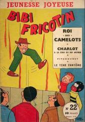 Bibi Fricotin (3e Série - Jeunesse Joyeuse) (1) -22- Bibi Fricotin roi des camelots