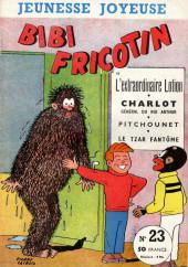 Bibi Fricotin (3e Série - Jeunesse Joyeuse) (1) -23- Bibi Fricotin et l'extraordinaire lotion