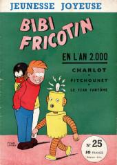 Bibi Fricotin (3e Série - Jeunesse Joyeuse) (1) -25- Bibi Fricotin en l'an 2000