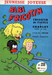 Bibi Fricotin (3e Série - Jeunesse Joyeuse) (1) -28- Bibi Fricotin chasseur de fauves